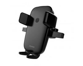 Incarcator Auto Wireless Remax Pentru Ventilatie Wk Design Qi Charger 10w Black