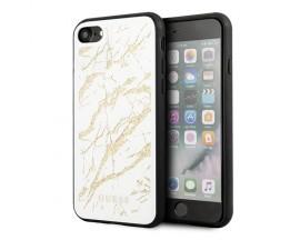Husa Premium Originala Guess iPhone Se 2 ( 2020 ) Marble Alb- GUHCI8MGGWH