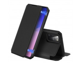 Husa Premium Duxducis Skin X Flip Cover Samsung Galaxy S10 Lite Negru