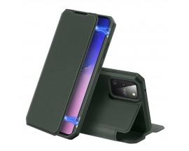 Husa Premium Duxducis Skin X Flip Cover Samsung Galaxy S10 Lite, Verde