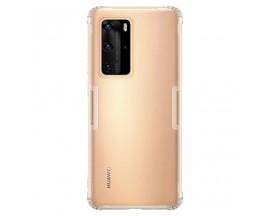 Husa Spate Ultra Slim Nillkin Nature Huawei P40 Pro ,Tehnologie Air Cusion ,Transparenta