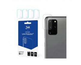 Folie Sticla Nano Glass 3mk Pentru Camera Pentru Samsung Galaxy S20+ PLus, Transparenta, 4 Buc In Pachet