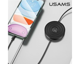 Incarcator Wireless Usams 3 in 1 ,Incarcare Smartphone ,Apple Watch ,Airpods ,Negru - CC96WH01