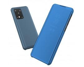 Husa Flip Upzz Mirror Samsung Galaxy S20 Ultra ,Albastru