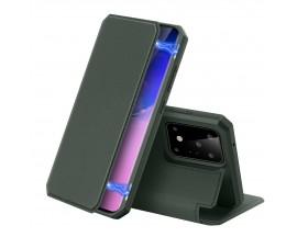 Husa Premium Duxducis Skin X Flip Cover Samsung Galaxy S20 Ultra ,Verde