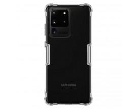 Husa Premium Nillkin Nature Pentru Samsung Galaxy S20 Ultra , Tehnologie Air Cushion ,Anti-Alunecare ,Transparenta