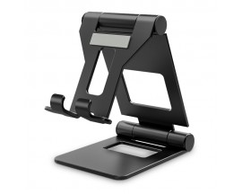 Suport Universal Premium Upzz Tech Protect pentru Tableta ,Negru ,aluminiu