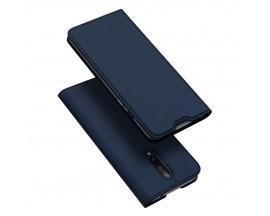Husa Flip Cover Premium Duxducis Skinpro OnePlus 8 ,Navy Albastru