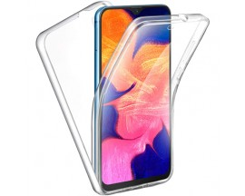 Husa 360 Grade Full Cover Upzz Case Silicon Samsung Galaxy A10 Transparenta