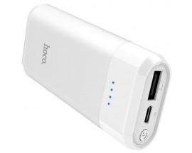 Baterie Externa Hoco Enturage 5200mah ,1x Usb ,alb - B35 -alb