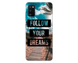 Husa Silicon Soft Upzz Print Samsung Galaxy Galaxy A41 Model Dreams