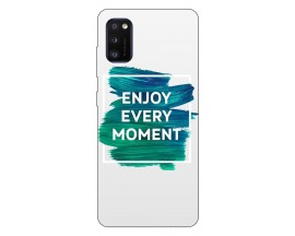 Husa Silicon Soft Upzz Print Samsung Galaxy Galaxy A41 Model Enjoy