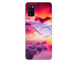Husa Silicon Soft Upzz Print Samsung Galaxy Galaxy A41 Model Infinity