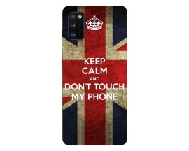 Husa Silicon Soft Upzz Print Samsung Galaxy Galaxy A41 Model Keep Calm