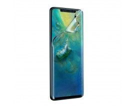 Folie Premium Baseus Full 3d Pet Anti Blue Light Pentru Huawei Mate 20 Pro 0,15mm Grosime, 2 Buc In Pachet-SGHWMATE20P-KS01