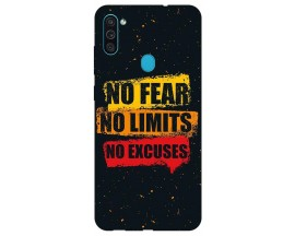 Husa Silicon Soft Upzz Print Samsung Galaxy A11 Model No fear