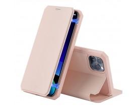 Husa Premium Flip Cover Duxducis Skin X iPhone 11 Pro,Roz