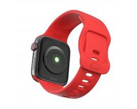 Curea Icon Band Upzz Tech Protect ,compatibila Cu Apple Watch 1/2/3/4/5/6 (38/40mm), Red