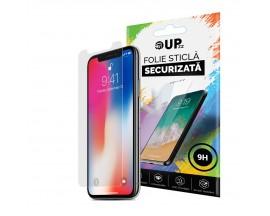 Folie Sticla Securizata Upzz Glass iPhone X / XS ,Duritate 9H ,Transparenta