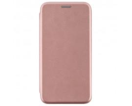 Husa Flip Carte Cu Magnet Lux Upzz Samsung Note 10 Lite ,Rose Gold