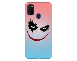 Husa Silicon Soft Upzz Print Samsung Galaxy M21 Model Joker