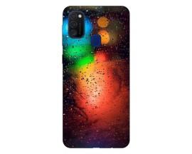 Husa Silicon Soft Upzz Print Samsung Galaxy M21 Model Multicolor