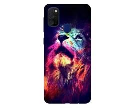Husa Silicon Soft Upzz Print Samsung Galaxy M21 Model Neon Lion