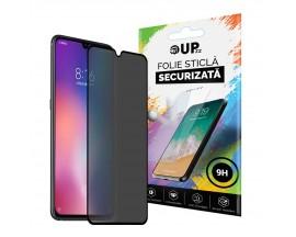 Folie Sticla Full Cover Privacy Premium Upzz Pro Glass Samsung Galaxy A41 Cu Adeziv Pe Toata Suprafata