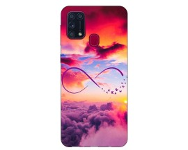 Husa Silicon Soft Upzz Print Samsung Galaxy M31 Model Infinity