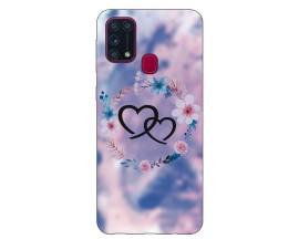Husa Silicon Soft Upzz Print Samsung Galaxy M31 Model Love