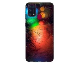 Husa Silicon Soft Upzz Print Samsung Galaxy M31 Model Multicolor
