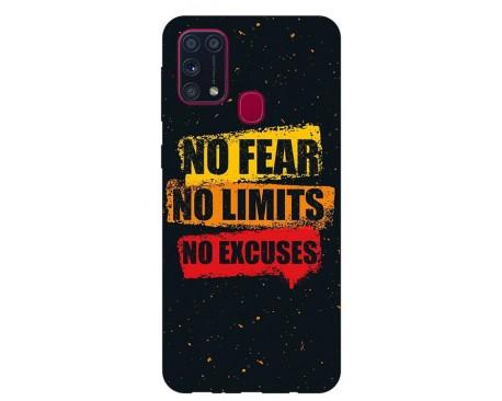Husa Silicon Soft Upzz Print Samsung Galaxy M31 Model No Fear
