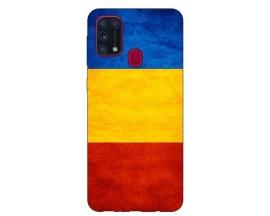 Husa Silicon Soft Upzz Print Samsung Galaxy M31 Model Tricolor