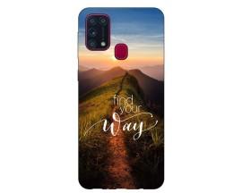 Husa Silicon Soft Upzz Print Samsung Galaxy M31 Model Way