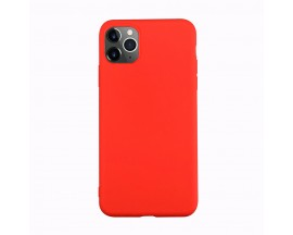 Husa Ultra Slim Upzz Candy Pentru iPhone 11 ,1mm Grosime , Red