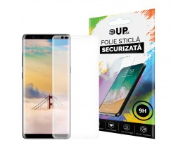 Folie Fata Silicon Mixon Ultra Samsung Note 9 Transparenta ,silicon