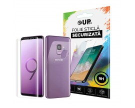 Folie Full Cover Fata + Spate Tpu Soft Upzz Pro Slim Samsung S9+ Plus Transparenta