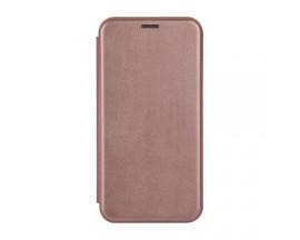 Husa Flip Carte Cu Magnet Lux Upzz Samsung Galaxy A40, Rose Gold
