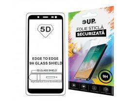 Folie 5d Full Cover Full Glue Mixon Pro Glass Samsung J4+ 2018 Cu Adeziv Pe Toata Suprafata Foliei