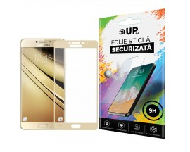 Folie sticla Full Cover MIXON Samsung A7 2017 Gold