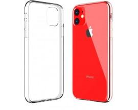 Set 10 x Husa Slim Upzz Case iPhone 11 ,Silicon Transparent 0,5mm Grosime