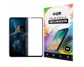 Folie Sticla Full Cover Full Glue 6d Upzz Huawei Nova 5T Cu Adeziv Pe Toata Suprafata Foliei Neagra