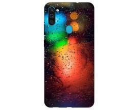 Husa Silicon Soft Upzz Print Samsung Galaxy M11 Multicolor
