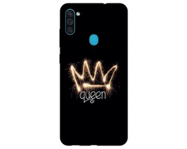 Husa Silicon Soft Upzz Print Samsung Galaxy M11 Queen