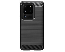 Husa Spate Upzz Carbon Pro Samsung Galaxy S20 Ultra Negru