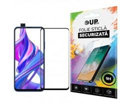 Folie Sticla Full Cover Full Glue 6d Upzz Huawei P Smart Pro  Cu Adeziv Pe Toata Suprafata Foliei Neagra