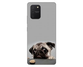 Husa Silicon Soft Upzz Print Samsung Galaxy S10 Lite Model Dog