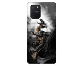 Husa Silicon Soft Upzz Print Samsung Galaxy S10 Lite Model Dragon1