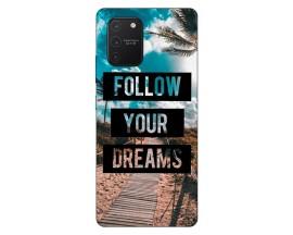 Husa Silicon Soft Upzz Print Samsung Galaxy S10 Lite Model Dreams