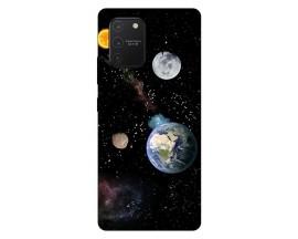 Husa Silicon Soft Upzz Print Samsung Galaxy S10 Lite Model Earth
